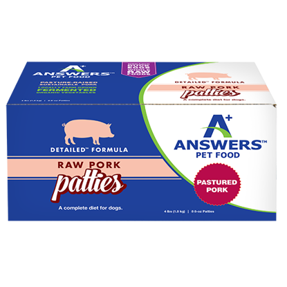 Detailed Pork Formula For Dogs - Patties
