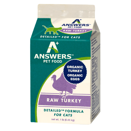 Detailed Turkey Formula For Cats - 1lb