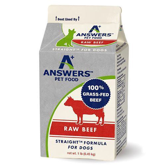 Straight Beef Formula For Dogs - 1lb
