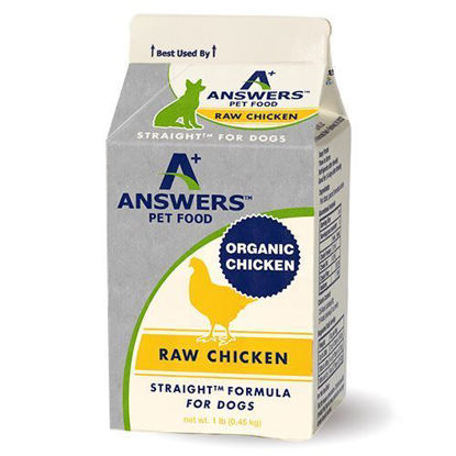 Straight Chicken Formula For Dogs - 1lb
