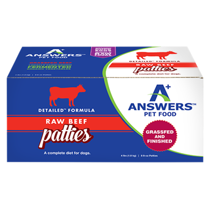 Detailed Beef Formula for Dogs - Patties